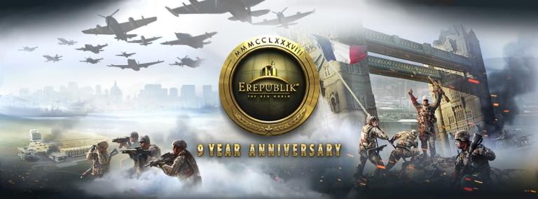 eRepublik fête ses 9 ans d'existence