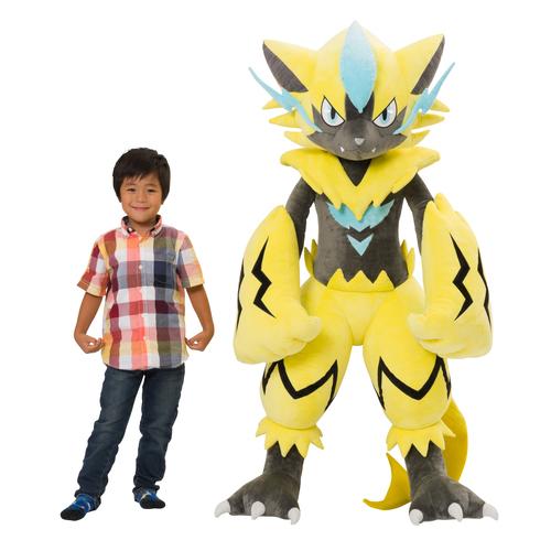 Pokémon : une peluche Zeraora grandeur nature va sortir au Japon