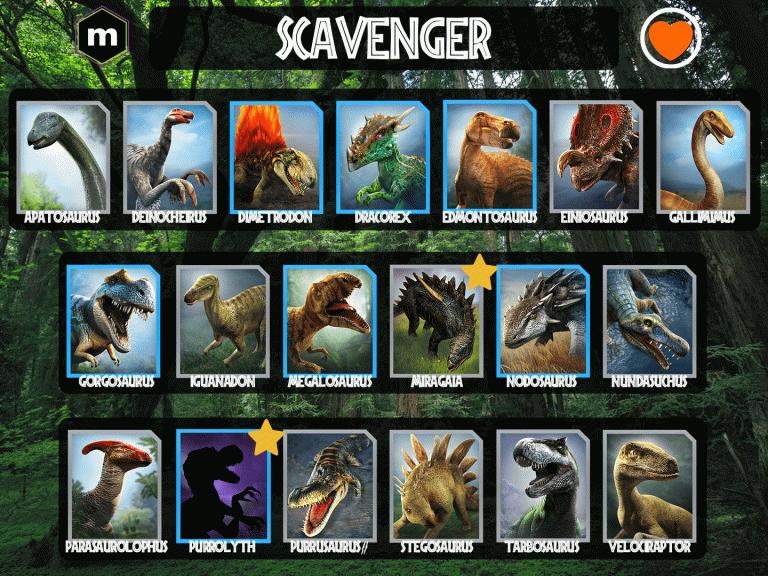 """Jurassic World Alive : Découvrez les """"tier lists"""" stratégiques !"""