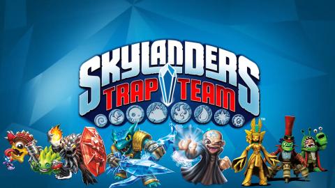 Jaquette de Skylanders Trap Team sur Wii
