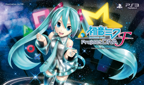Jaquette de Hatsune Miku : Project Diva F sur PS3