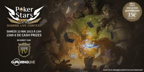 Jaquette de Un tournoi HearthStone communautaire sur Gaming Live