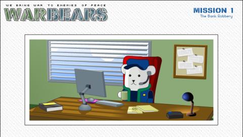 Jaquette de Warbears : Quand des ours polaires combattent le crime sur Web