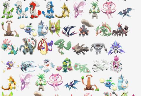 Mega exeggutor mega crobat mega sudowoodo et bien d 39 autres m ga evolutions disponibles dans - Les mega evolution pokemon x et y ...