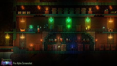 Jaquette de Quelques screenshots de Terraria : Otherworld