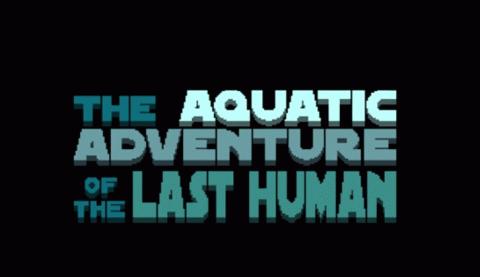 Jaquette de The Aquatic Adventure of the Last Human : Le Shadow of the Colossus de la mer sur Kickstarter
