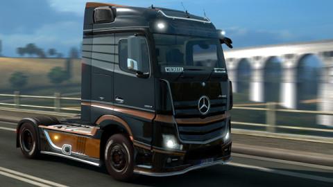 Jaquette de Le Mercedes-Benz New Actros fait son entrée dans Euro Truck Simulator 2