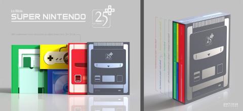 Jaquette de Bible Super Nintendo - Coffret Collector 25ème anniversaire chez Pix'n Love
