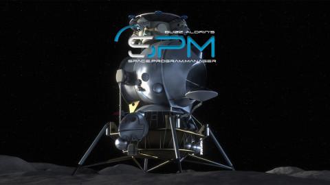 Jaquette de Buzz Aldrins Space Program Manager : A la conquête de l'espace !