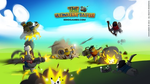 Jaquette de The Ultimatest Battle : Un Worms-like français