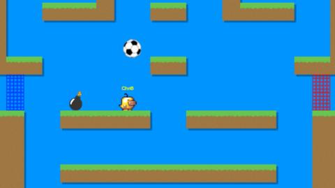 Jaquette de Un jeu de football en multijoueur sur le Web