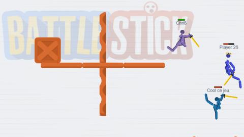 Jaquette de Découvrez BattleStick, un jeu multijoueur en temps réel sur navigateur Internet