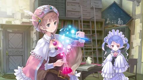Jaquette de Atelier Rorona Plus sur Vita