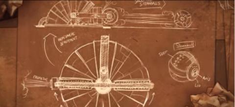 Jaquette de Steamroll : Un puzzle un brin steampunk actuellement sur Kickstarter