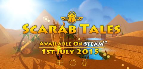Jaquette de Scarab Tales disponible sur steam