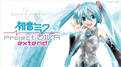 Jaquette de Project Diva Extend (Import) sur PSP