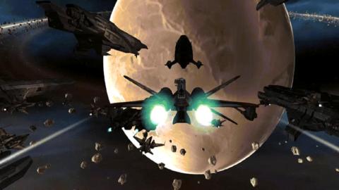 Jaquette de T.R.O.T.A.N : Le projet d'un jeu mêlant FPS et combats spatiaux sur Kickstarter