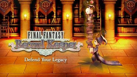 Jaquette de Final Fantasy Record Keeper - Le J-RPG nostalgique
