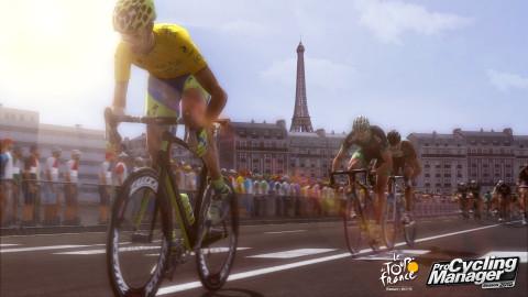 Jaquette de Pro Cycling Manager 2015 , peu d'évolutions mais un nouveau mode prometteur sur PC