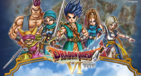 Jaquette de Dragon Quest VI : Le Royaume des Songes, portage en demi-teinte pour un chef-d'oeuvre intemporel