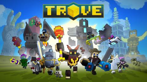 Jaquette de Trove : Le MMORPG qui vous mettra la tête en carré sur PC