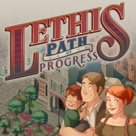 Jaquette de Lethis: Path of Progress: Caesar 3 en mode Steampunk sur PC