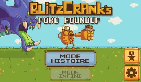 Jaquette de Blitzcrank's Poro Roundup : RiotGames se lance dans le pixel art