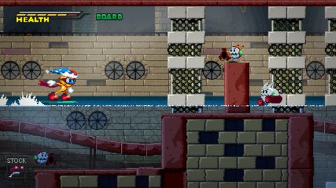 Jaquette de Spark The Electric Jester : Un nouveau Sonic-like financé sur Kickstarter