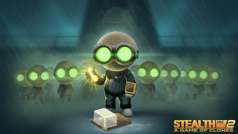Jaquette de Stealth Inc 2: A Game of Clones offert sur Humble Bundle Store !