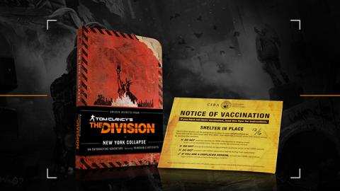 Jaquette de The Division s'offre un guide de survie