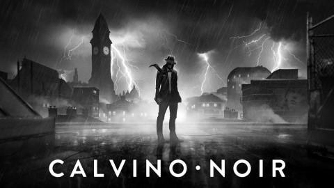 Jaquette de Calvino Noir : quand un film noir rencontre un jeu vidéo