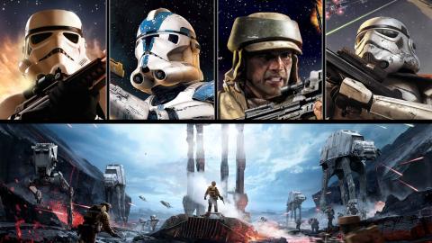 Jaquette de La licence Battlefront, au cœur de Star Wars