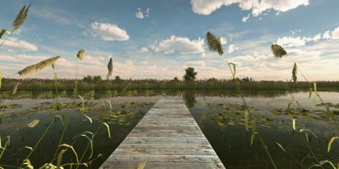 Jaquette de Fishing planet : un jeu qui vous incite à pêcher sur PC