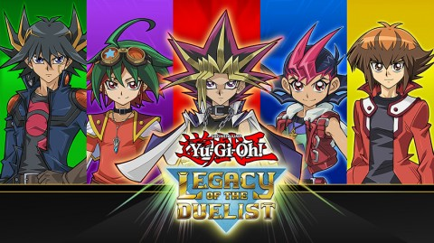 Jaquette de Yu-Gi-Oh! Legacy of the Duelist