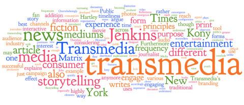 Jaquette de Le transmédia storytelling, une nouvelle façon de raconter les histoires