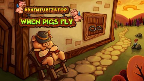 Jaquette de Adventurezator : un peu d'Aventure et beaucoup de Bacon sur PC