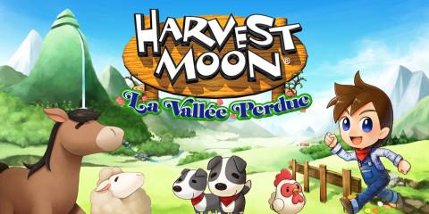 Jaquette de Harvest Moon La vallée perdue : un nouvel épisode prometteur ? sur 3DS