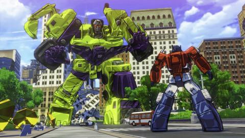 Jaquette de Transformers Devastation : Tout sauf des boites de conserve