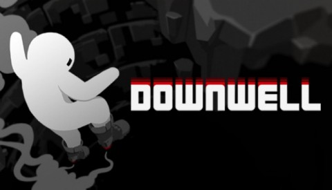 Jaquette de Downwell, un Shooter Rogue Like à tomber par terre sur PC