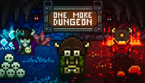 Jaquette de One More Dungeon, quand le FPS rencontre le style pixel-art
