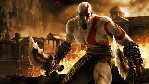 Jaquette de Une superbe statue de Kratos en vente en Amérique du Nord