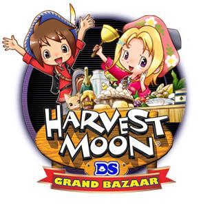Jaquette de Harvest Moon Grand Bazaar: un vent de fraicheur sur la série ? sur DS