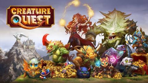 Jaquette de Creature Quest : Le créateur de Might and Magic se lance sur mobiles sur iOS