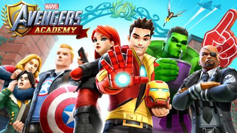 Jaquette de Marvel Avengers Academy : L'école des héros