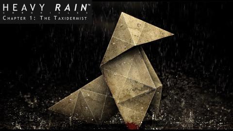 Jaquette de Heavy Rain Chronicles- Chapter 1 : The Taxidermist sur PS3