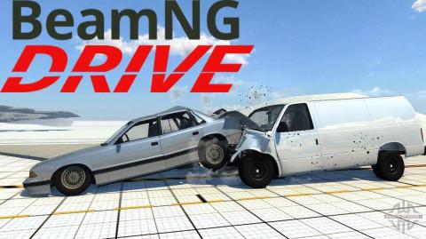 Jaquette de BeamNG.drive - Jouez les Crash Dummies sur PC