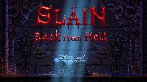 Jaquette de Slain : Back from Hell : Sang pour sang plateforme !