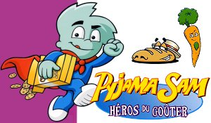 Jaquette de Oldies : Pyjama Sam, Héros du Goûter sur PS1