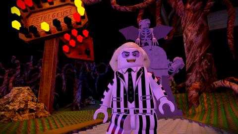 Jaquette de Beetlejuice arrive dans Lego Dimensions