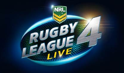 Jaquette de Rugby League Live 4 : une sortie prévue courant 2017